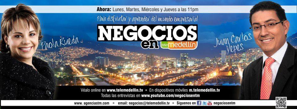 Negocios en Telemedellín y Capitalia en ESPACIO